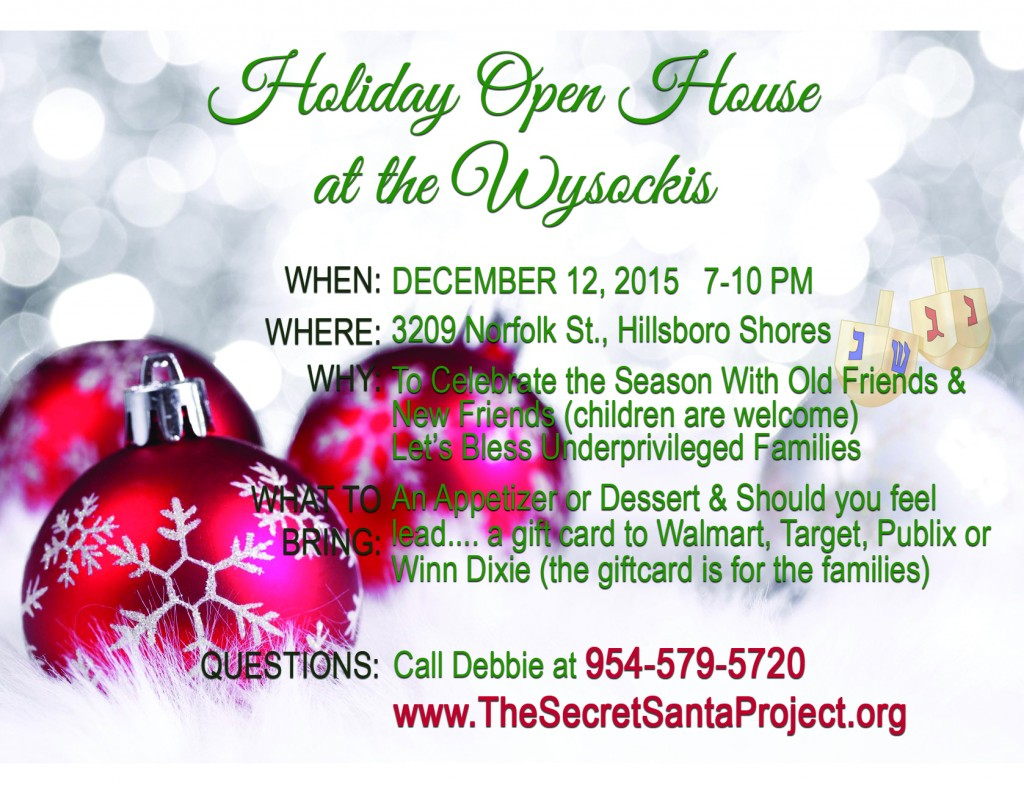 Wysocki Holiday Open House