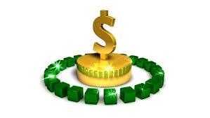 spinning dollar